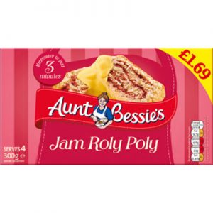 PM £1.69 Aunt Bess Jam Roly