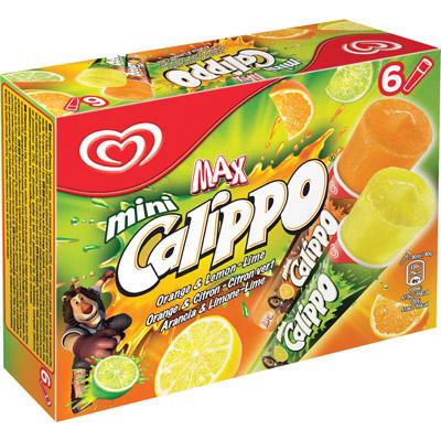 Calippo Mini Orange & Lime 6 Multipack