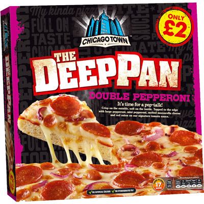 PM £2.00 Chicago Town Deep Pan Pepperoni
