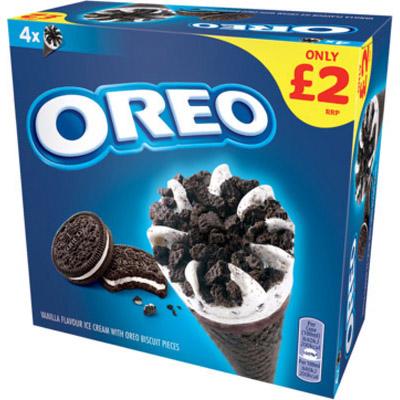 PM £2.00 Oreo Cone Multipack