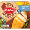 PM £2.50 Birds Eye Crispy Chicken 2's