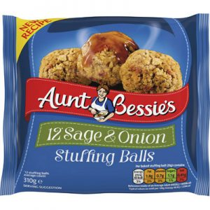 Aunt Bess Sage & Onion Balls UNIT