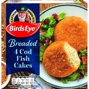 Birds Eye 4 Cod Fish Cakes