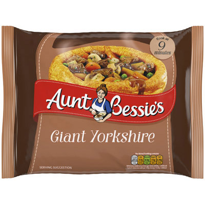 Aunt Bess 10 Giant Yorkshire Puddings