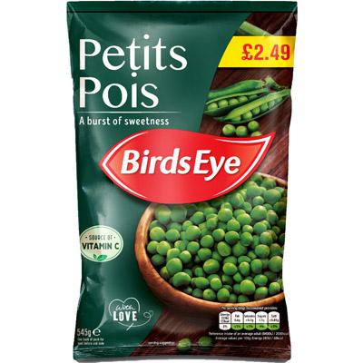 PM £2.49 Birds Eye Petit Pois