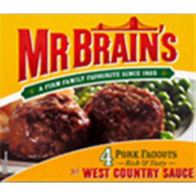 PM £1.49 Brains Faggots 4's