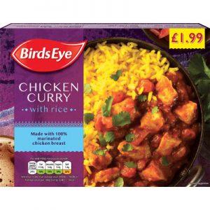 PM £1.99 Birds Eye Chicken Curry & Rice