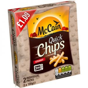 PM £1.09 McCain Quick Chips