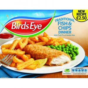 PM £2.50 Birds Eye Fish & Chips
