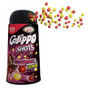 Calippo Shots Strawberry/Lemon