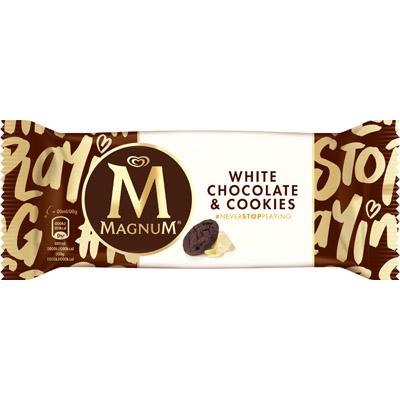 Magnum White Chocolate & Cookie