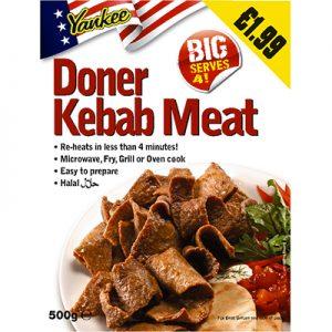PM £1.99 Yankee Dona Kebab Meat