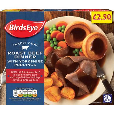 PM £2.50 Birds Eye Beef Dinner