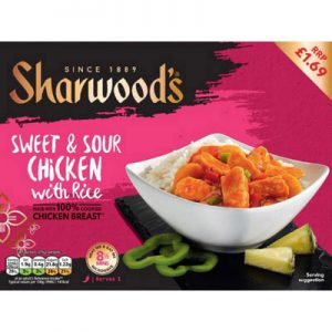 PM £1.69 Sharwood's Sweet/Sour Chicken