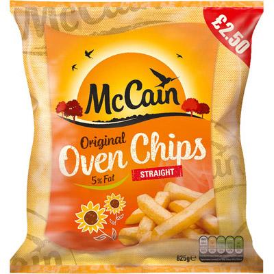PM £2.50 McCain Oven ChipsUNIT