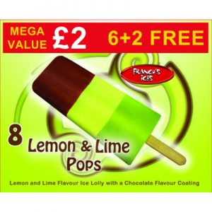 PM £2.00 Franco's Lemon & Lime 8pk
