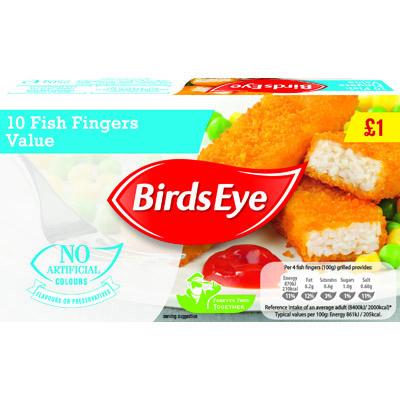PM £1 Birds Eye Value Fish Fingers