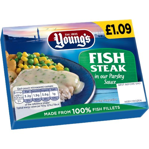 PM £1.09 Young's Fish/Parsle