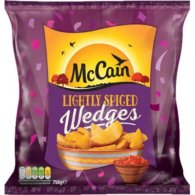 McCain Lightly Spiced Wedges
