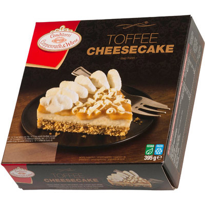 Coppenrath Standard Toffee Cheesecake