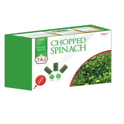 TAJ Chopped Spinach