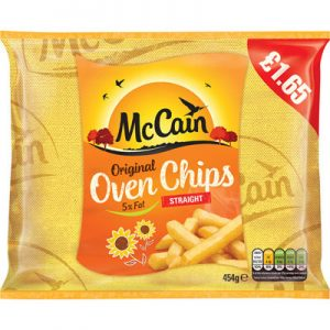 PM £1.65 McCain Oven Chip CASE