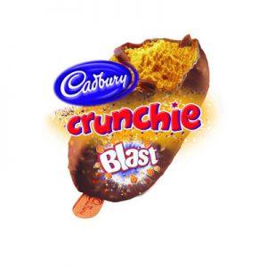 Crunchie Blast Ice Cream