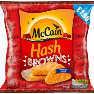 PM £1.99 McCain Hash Browns UNIT
