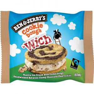 Ben & Jerry's WICH Cookie Dough