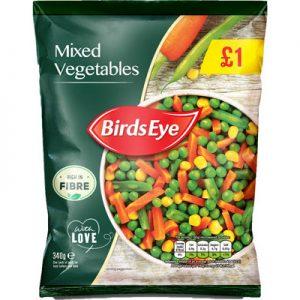PM £1.00 Birds Eye Mixed Vegetable