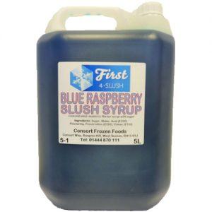 Slush Blue Raspberry