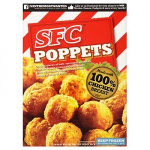 SFC Southern Fried Chick Poppets CASE