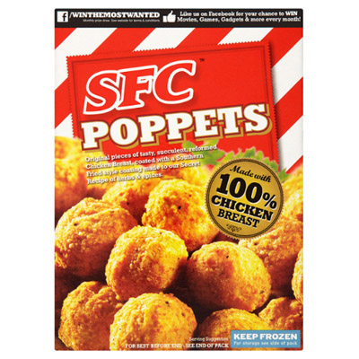 SFC Southern Fried Chick Poppets CASE