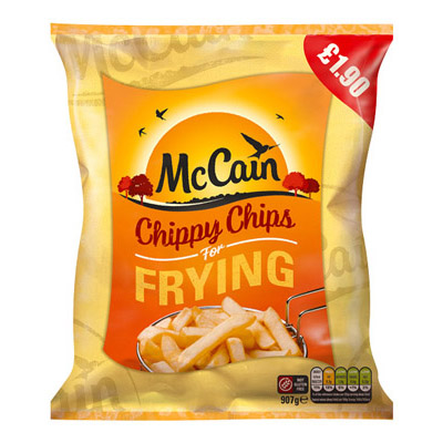 PM £1.90 McCain Chippy Chips CASE