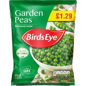 PM £1.29 Birds Eye Garden Peas