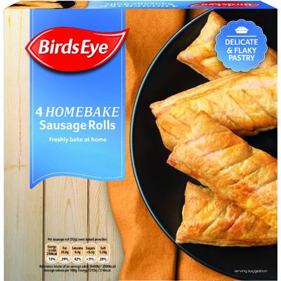 Birds Eye Sausage Rolls