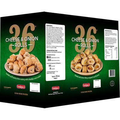 Fresh Pack 36 Cheesy Rolls UNIT