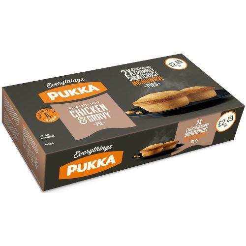 PM £2.49 Pukka Chicken/Gravy Pie 2
