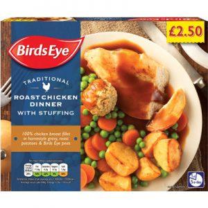 PM £2.50 Birds Eye Chicken Dinner