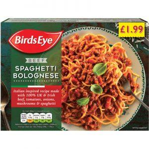 PM £1.99 Birds Eye Spag/Bolognese