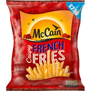 PM £2.50 McCain French Fries CASE
