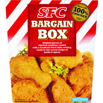 SFC Southern Fried Bargain Box