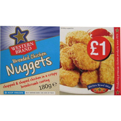 PM £1.00 Western Brand Nuggets Bread