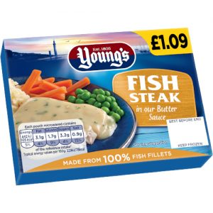 PM £1.09 Young's Fish in Butter