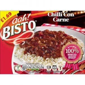 PM £1.69 Bisto Chilli Con Carne