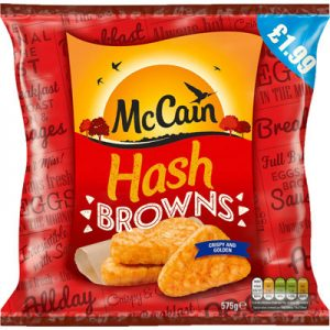 PM £1.99 McCain Hash Browns CASE