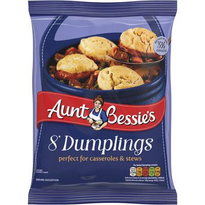 Aunt Bess Dumplings CASE