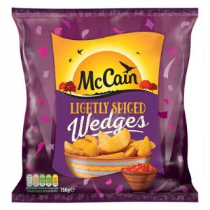 McCain Lightly Spicy Wedges
