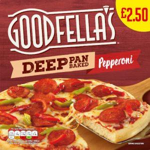 PM £2.50 Goodfella's DEEP Pepperoni