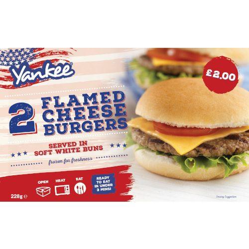 PM £2.00 Yankee Cheese Burger 2's